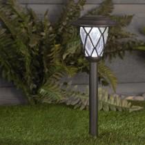 Cage-Style Lantern Solar Path Light 5 Lumens