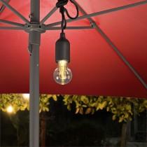 Battery-operated Plastic LED String Light Bulb 10 Lumens
