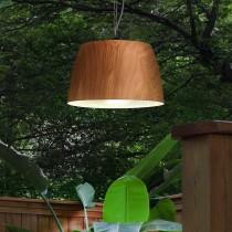 Oak-Inspired Pendant Light