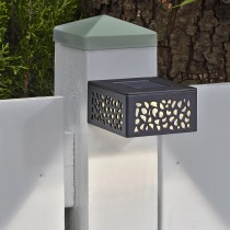Cutout Solar Post Light 8 Lumens