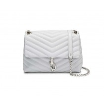 Rebecca Minkoff Edie Crossbody Ice Grey