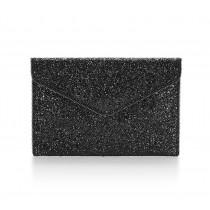 Rebecca Minkoff Leo Clutch Black Multi Glitter