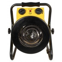 Royal Sovereign Electric Fan Heater Black/yellow
