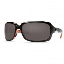 Costa Del Mar Isabela Sunglasses Frame Black Coral Lens Gray Plastic 580P