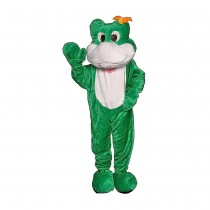 Frog Mascot Adult Costume (One Size Fits Most)