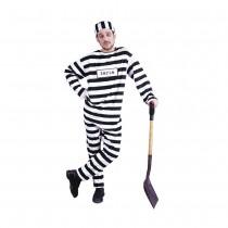 Convict Costume X-Large