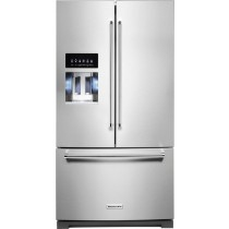KitchenAid 27 Cu. Ft. French Door Refrigerator Printshield Stainless (w/Kit)
