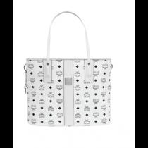 MCM Liz Medium Shopper White