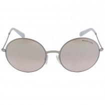 Michael Kors Kendall ll Round Sunglasses MK5017 11398Z 55 - Brushed Silver Frame - Brown Gradient Lenses