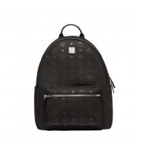 MCM Dieter Monogram Nylon Backpack - Black