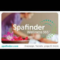 Spafinder Wellness 365® eCertificate
