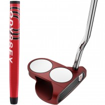 Odyssey O-Works Red 2-Ball Putter - Left Hand/35 inch