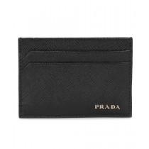 Prada Black Saffiano Leather Card Holder 2MC149 C5S F0002