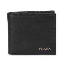 Prada Black Saffiano Leather Wallet 2MO912 QWA F0002