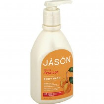 Jason Natural Products - Apricot Satin Shower Body Wash (Pack of 2 - 30 FZ)