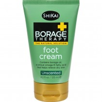 Shikai Products - Borage Therapy Foot Cream - Unscented  2 - 4.2 OZ