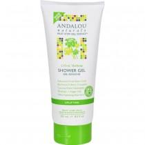Andalou Naturals - Citrus Verbena Uplifting Shower Gel (Pack of 2 - 8.5 FZ)