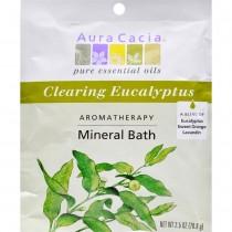 Aura Cacia - Eucalyptus Harvest Mineral Bath Salts (Pack of 12 - 2.5 OZ)