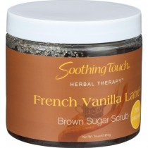 Soothing Touch - French Vanilla Latte Brown Sugar Scrub (Pack of 2 - 16 OZ)