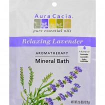 Aura Cacia - Lavender Harvest Mineral Bath (Pack of 6 - 2.5 OZ)