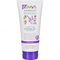 Andalou Naturals - Lavender Thyme Refreshing Shower Gel (Pack of 2 - 8.5 FZ)