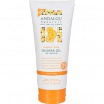 Andalou Naturals - Mandarin Vanilla Vitalizing Shower Gel (Pack of 2 - 8.5 FZ)