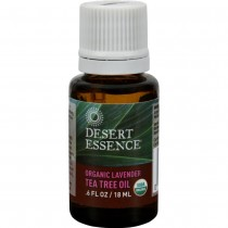 Desert Essence - Oil Lavender And Tea Tree (Pack of 2 - .6 FZ)