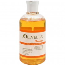 Olivella - Orange Bath And Shower Gel (Pack of 2 - 16.9 FZ)