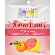 Aura Cacia - Refreshing Tangerine And Grapefruit Foam Bath (Pack of 12 - 2.5 OZ)