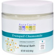 Aura Cacia - Tranquility Chamomile Mineral Bath (Pack of 2 - 16 OZ)