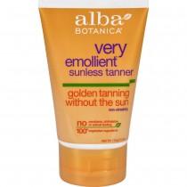 Alba Botanica - Very Emollient Sunless Golden Tanning Natural Formula (Pack of 2 - 4 FZ)