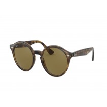 Ray-Ban Oval Sunglasses - Tortoise with Brown Lenses