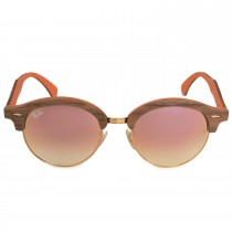 Ray-Ban Round Sunglasses RB4246M 12187O 51 - Copper Metal Frame - Copper Gradient Flash Lenses