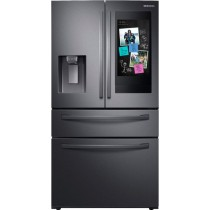 Samsung RF22R7551SG Refrigerator/Freezer French Style Freestanding black Stainless Steel (w/Kit)