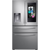 Samsung RF22R7551SR Refrigerator/Freezer French Style Freestanding Stainless Steel (w/Kit)