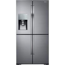 Samsung 28.1 Cu. Ft. 4-Door Flex French Door Refrigerator Fingerprint Resistant Stainless Steel (w/Kit)