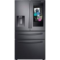 Samsung RF28R7551SG Refrigerator/Freezer French Style Freestanding Black Stainless Steel (w/Kit)
