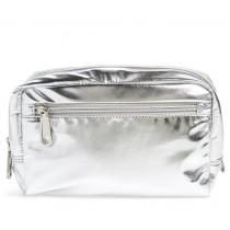 Rebecca Minkoff Nylon Cosmetic Pouch Silver