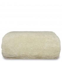 Luxury Hotel & Spa Towel Turkish Cotton Oversized Bath Sheet - Beige - Set of 1