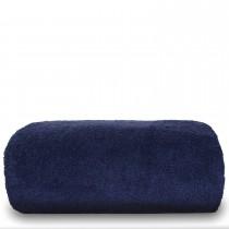 Luxury Hotel & Spa Towel Turkish Cotton Oversized Bath Sheet - Navy - Set of 1