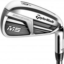 TaylorMade M5 Iron Set - Steel Shaft - Right Hand/4-AW/Regular Flex
