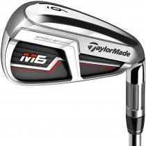 TaylorMade M6 Iron Set - Steel Shaft - Right Hand/4-AW/Stiff Flex