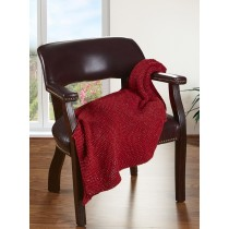 Sweater Weather Ruby Spark Knitted Throw Blanket