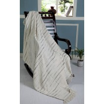 Grayscale  Decorative Throw Blanket