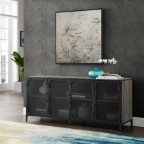 """60"""" Industrial Console w/ Mesh"""