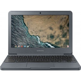 "Samsung - 11.6"" Chromebook - Intel Celeron - 4GB Memory - 32GB eMMC Flash Memory - Night Charcoal"