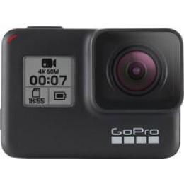 GoPro - HERO7 Black HD Waterproof Action Camera - Black