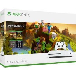 Xbox One S 1TB Minecraft Creators Bundle with 4K Ultra HD Blu-ray
