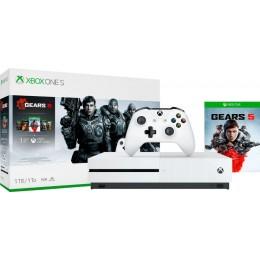 Microsoft - Xbox One S 1TB Gears 5 Console Bundle - White