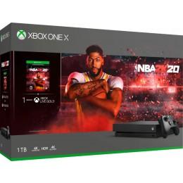 Microsoft - Xbox One X 1TB NBA 2K20 Bundle